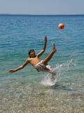 Futebol do verão Foto de Stock Royalty Free