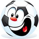 Futebol dos desenhos animados Fotos de Stock Royalty Free