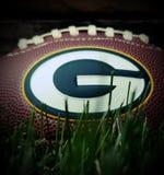 Futebol dos Green Bay Packers imagens de stock