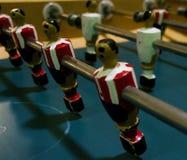 Futebol espanhol típico da tabela imagem de stock