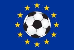 Futebol europeu Imagem de Stock
