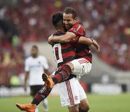 Futebol Flamengo foto de stock