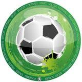 Futebol incomun ilustração stock