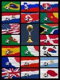 Futebol internacional ilustração stock