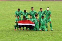 Futebol Iraque Fotografia de Stock