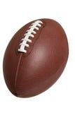 Futebol isolado no branco com trajeto de grampeamento foto de stock royalty free
