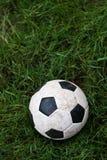 Futebol na terra Imagem de Stock