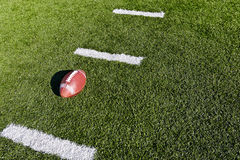 Futebol no campo Imagem de Stock Royalty Free