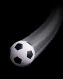 Futebol no movimento ilustração royalty free
