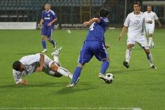 Futebol ou futebol imagens de stock royalty free