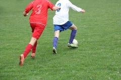 Futebol ou futebol or_1 Fotografia de Stock Royalty Free