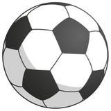 futebol preto-branco - simplesmente ilustração do vetor Fotos de Stock Royalty Free