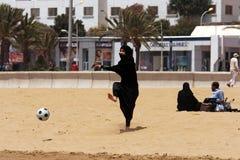 Futebol sem beiras para tudo Fotografia de Stock