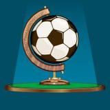 Futebol, unindo o mundo inteiro ilustração do vetor