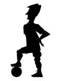 Futebol verde [02] ilustração stock