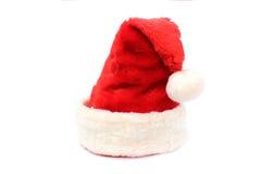 Futerkowy czerwieni i bielu Santa kapelusz Zdjęcie Royalty Free