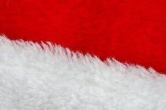 futerkowy czerwony biel Zdjęcie Stock