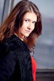 futerkowy dziewczyny kurtki target2178_0_ Zdjęcie Stock