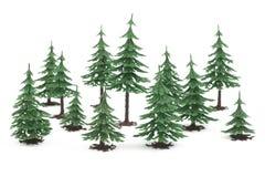 futerkowy plastikowy drzew biel drewno Fotografia Royalty Free