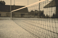 Futnet netting Stock Image