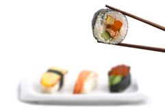 Futomaki (big roll) Royalty Free Stock Photography
