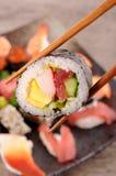 Futomaki sushi Royalty Free Stock Photography