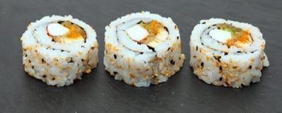 Futomaki sushi rolls Stock Images