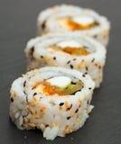 Futomaki sushi rolls Stock Image