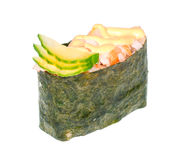 Futomaki on a white Stock Image