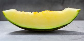 Futoro melon sliced, Piel de Sapo Royalty Free Stock Photography