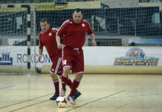 Futsal action Royalty Free Stock Image