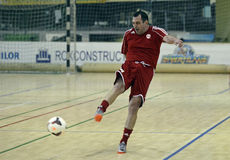 Futsal action Royalty Free Stock Images