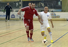 Futsal action Royalty Free Stock Photography