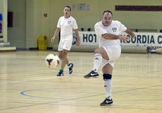Futsal action Stock Photography