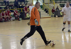 Futsal action Stock Photos