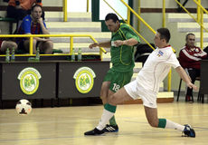 Futsal action Royalty Free Stock Photo
