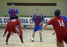 Futsal action Royalty Free Stock Photos