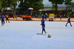 Futsal competition Stock Images