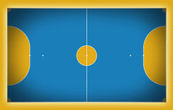 Futsal court. Football court sport game cup background for design Stock Photos