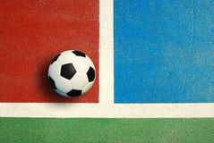 Futsal court indoor sport Royalty Free Stock Image