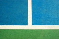 Futsal court indoor sport Stock Image