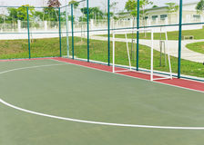 Futsal court. Stock Photos