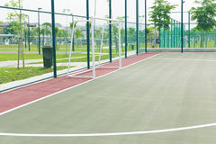 Futsal court. Royalty Free Stock Images