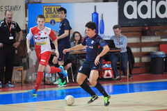 Futsal - Douglas Royalty Free Stock Images