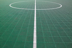 Futsal field Royalty Free Stock Photos