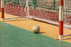 Futsal field Royalty Free Stock Image