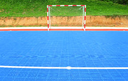 Futsal field Royalty Free Stock Images