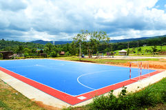 Futsal field Stock Images