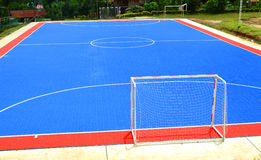 Futsal field Stock Photo