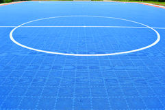 Futsal field Royalty Free Stock Photography